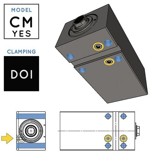 Cilindri Idraulici V450CM-YES