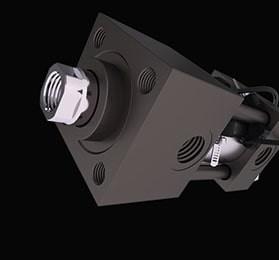 V215CR Zugstangen-Hydraulikzylinder Serie ISO 6020/2