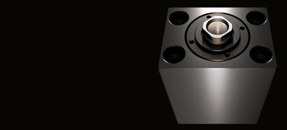 V450CM Kompaktzylinder Schwere Ausführung